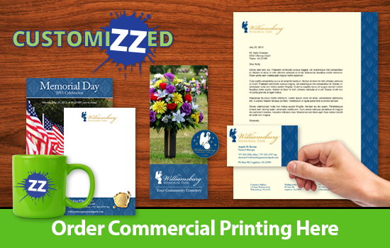 Order business cards, flyers & more...